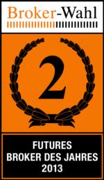 LYNX: Futures Broker des Jahres 2013 - Platz 2