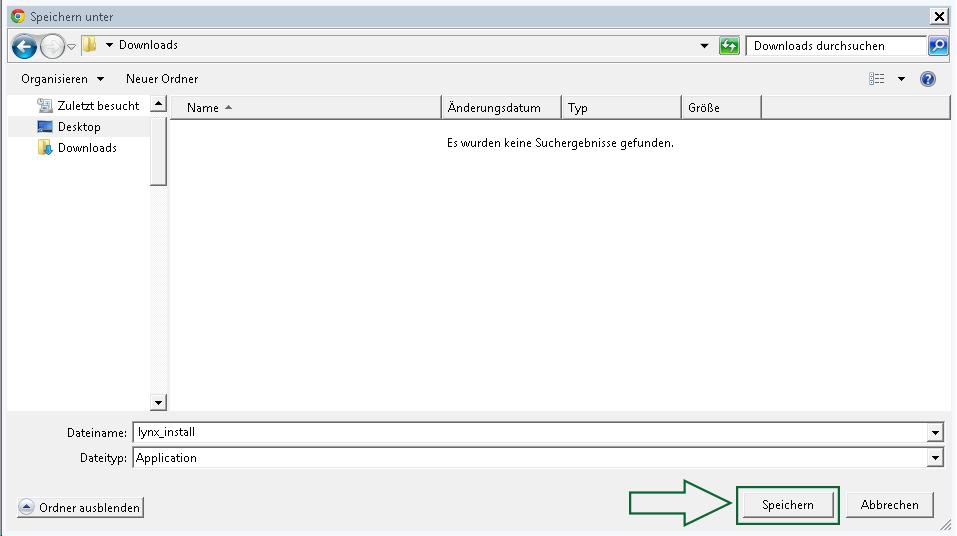 Windows | Download & Installation zur LYNX Handelsplattform