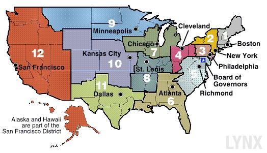 FED-die-regionalen-Federal-Reserve-Banken-LYNX-Artikel