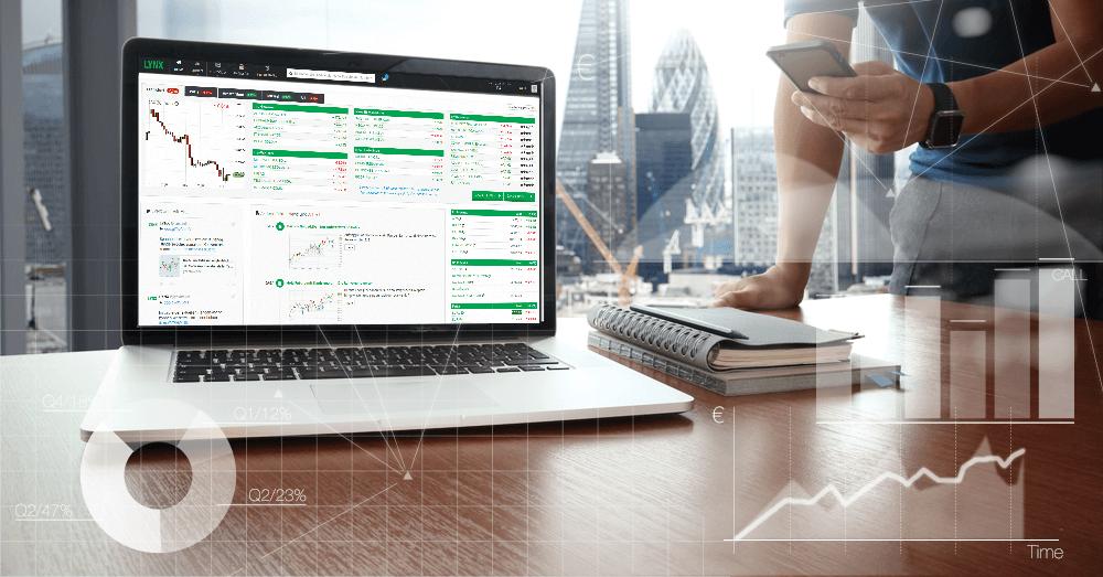 LYNX garantiert: Immer online, immer stabil – die LYNX Handelsplattform.