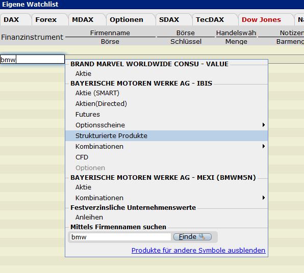 Wie Finde Ich Commerzbank Zertifikate In Der Lynx Handelsplattform