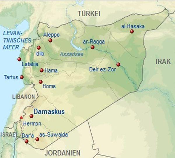 Pulverfass Naher Osten - Wie entwickelt sich der Ölpreis: Die geografische Lage von Syrien | LYNX Broker