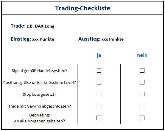 Erfolgreich handeln? Trades nachverfolgen!: Trading-Checkliste | LYNX Broker