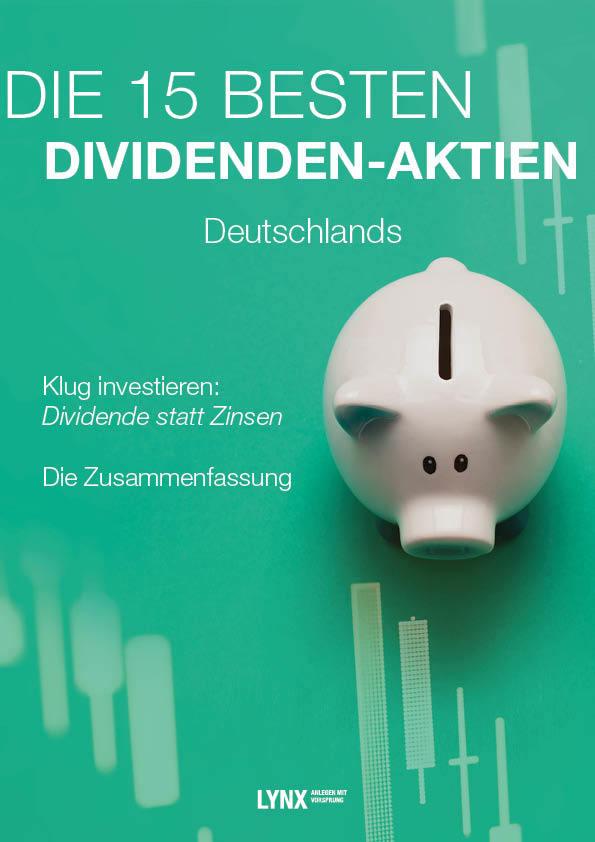 Die 15 besten Dividenden-Aktien Deutschlands