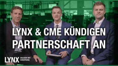 LYNX und CME kündigen Partnerschaft an | LYNX Online-Broker