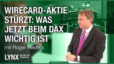 Wirecard-Aktie stuerzt - Was jetzt beim DAX wichtig ist