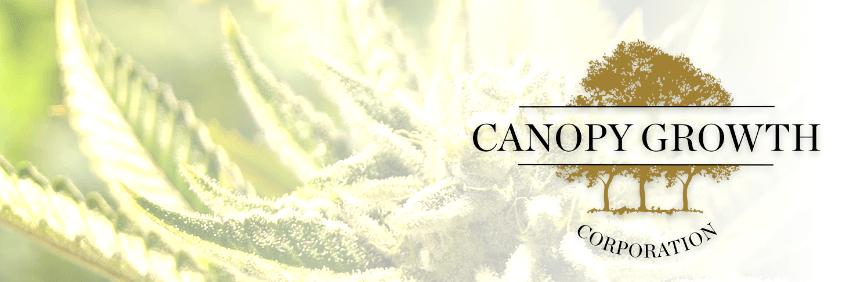 Die besten Cannabis Aktien: Top Cannabis Aktie Platz 2: Canopy Growth | LYNX Online Broker