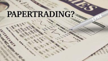 Was ist Paper Trading und was sind die Vor- und Nachteile? | LYNX Online Broker
