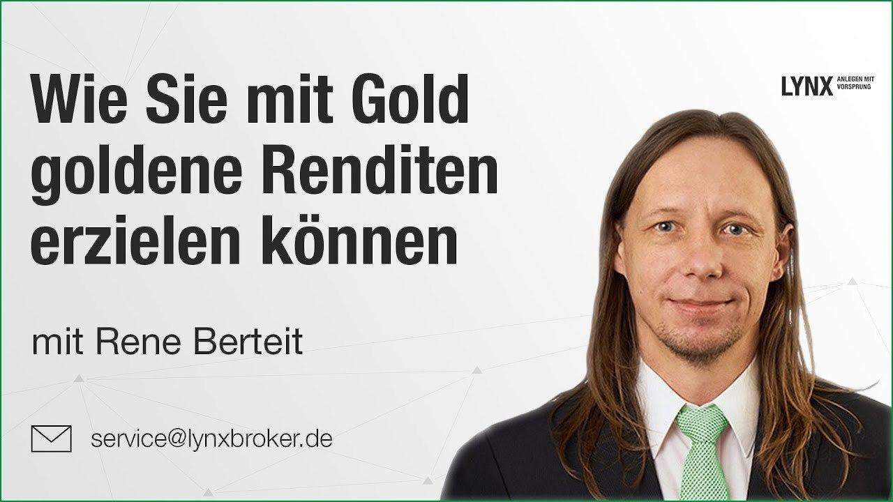 Wie Sie mit Gold goldene Renditen erzielen koennen