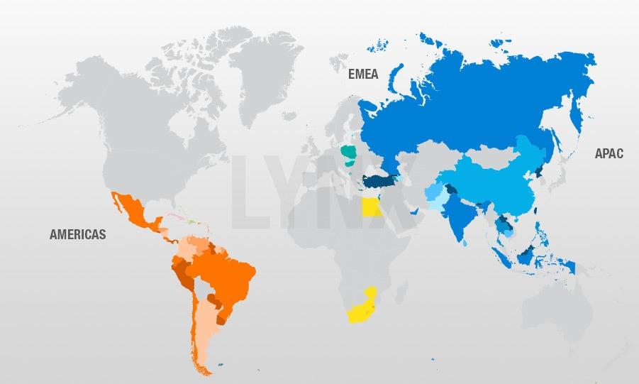 Diese Länder sind im MSCI Emerging Markets Index vertreten | Die besten MSCI Emerging Market ETFs 2019 LYNX