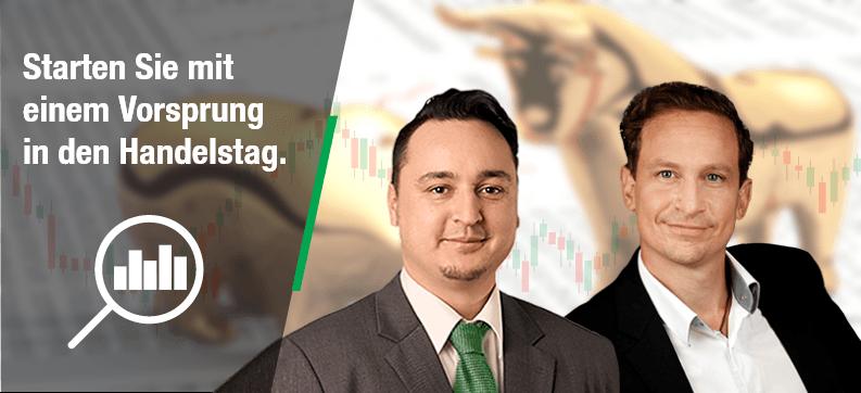 Aktuelle Börsennews: Börsenblick Newsletter - In den Handelstag starten mit einem Vorsprung | LYNX Online Broker